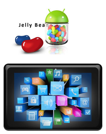 jellybean Professional Android Tablets for Retail Digital Signage