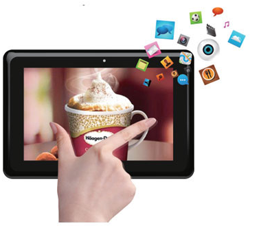 touch tablet