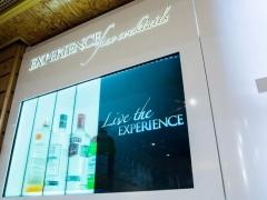 Smirnoff drinks transparent showcase
