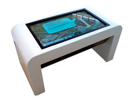 NEW Touch Tables introduced by Crystal Displays
