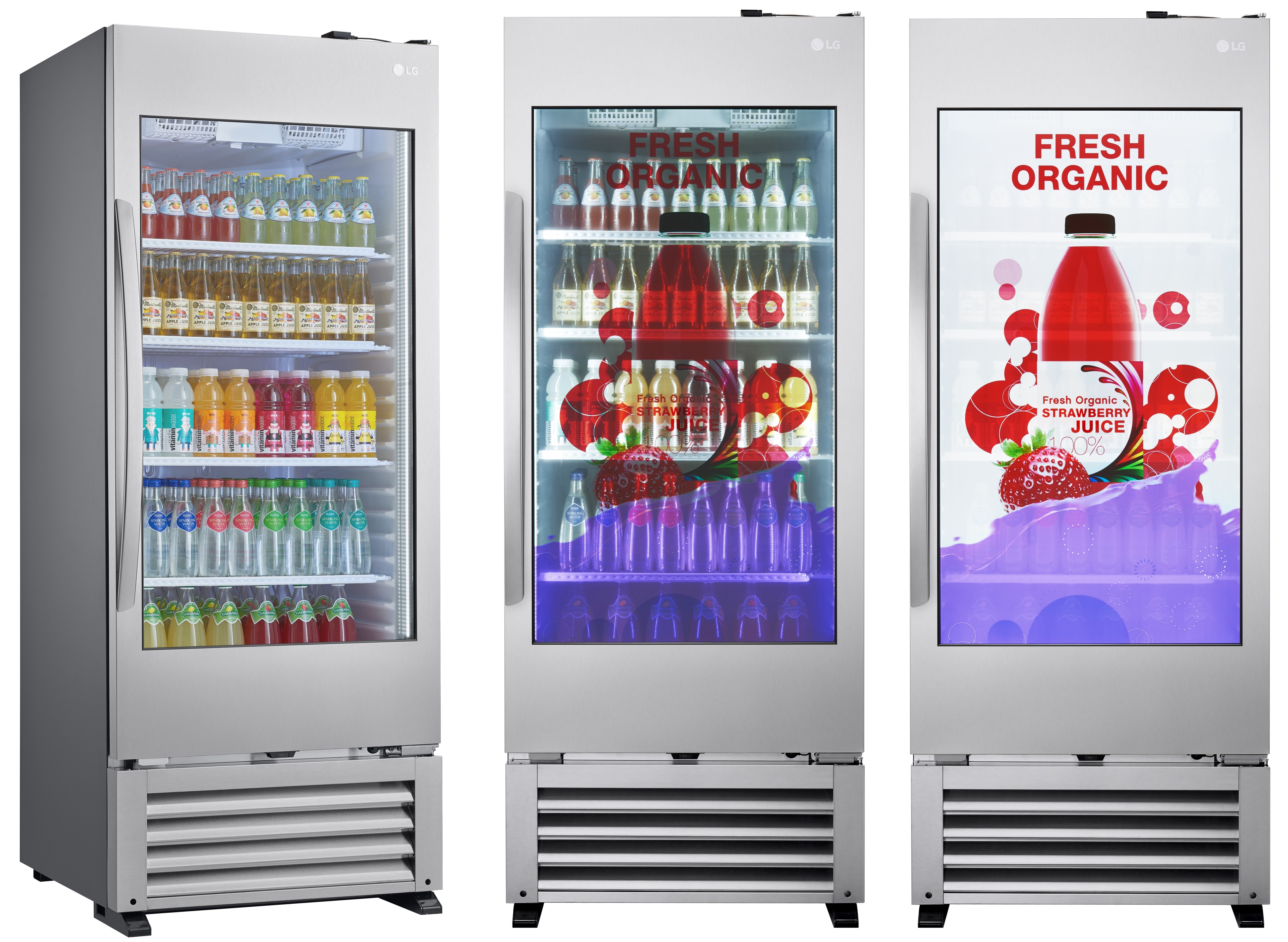 Brand New 49 inch Transparent Fridges Available from Stock