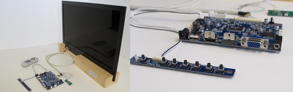 Transparent LCD Kit Form