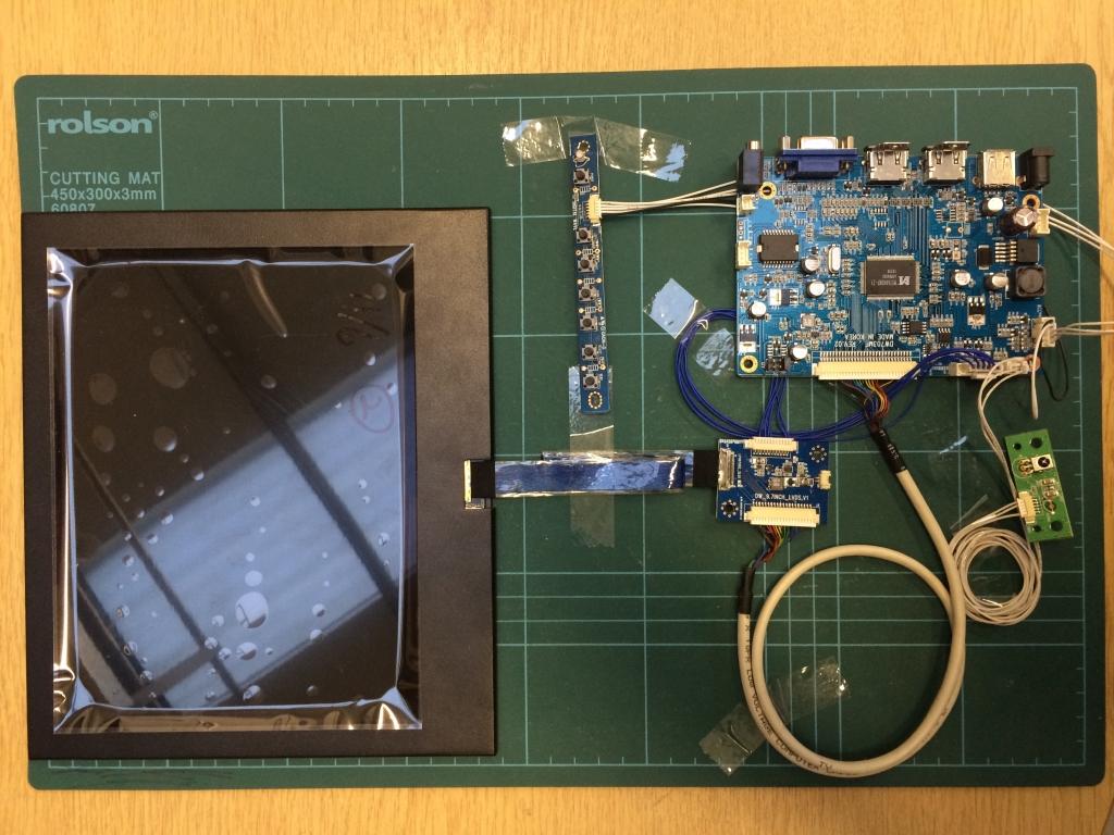 Transparent LCD Panel & Kits