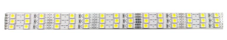 Transparent LCD LED strips
