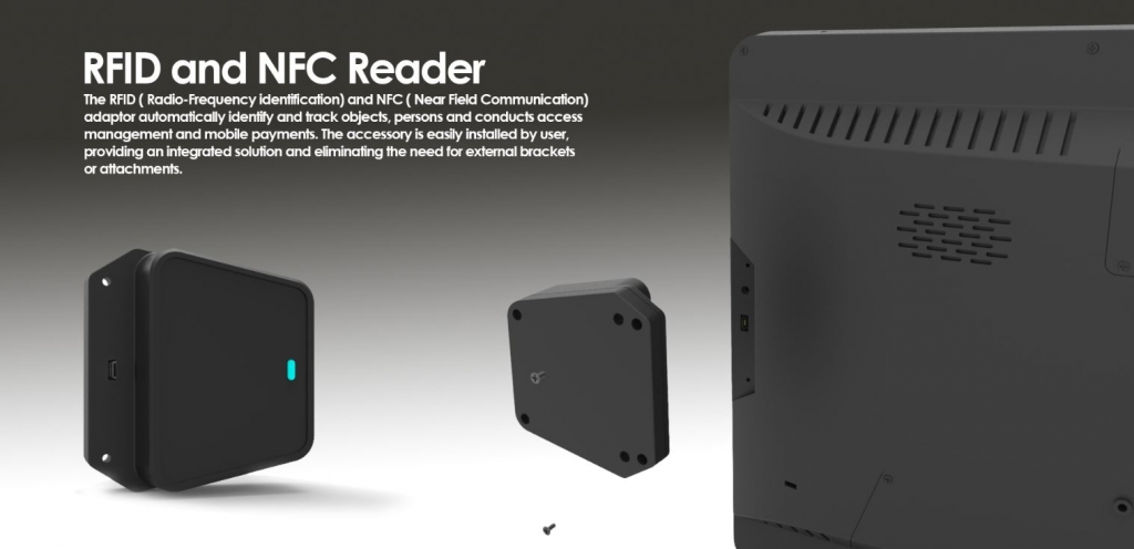 CDS RFID and NFC reader