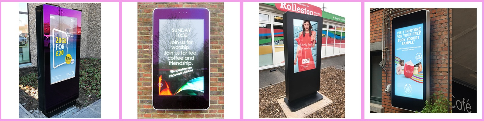cds outdoor displays