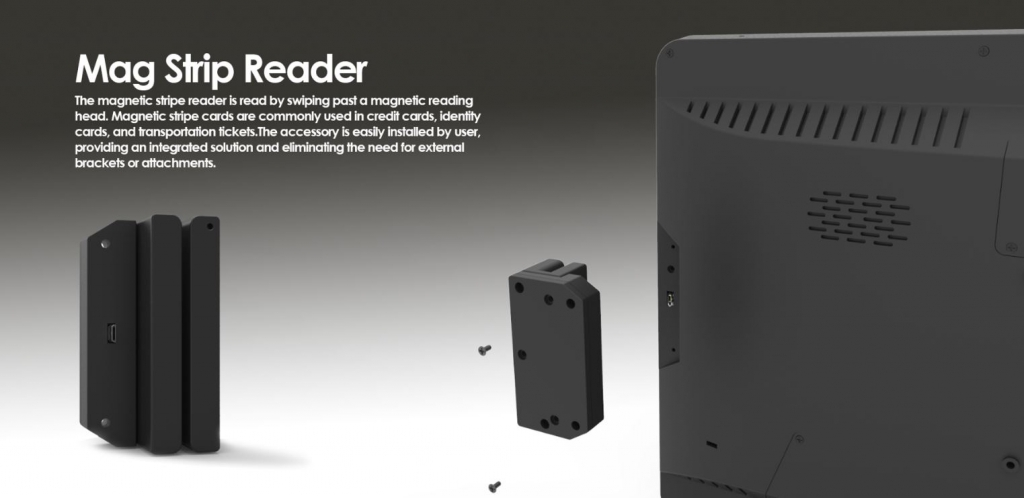 nseries magnetic strip reader