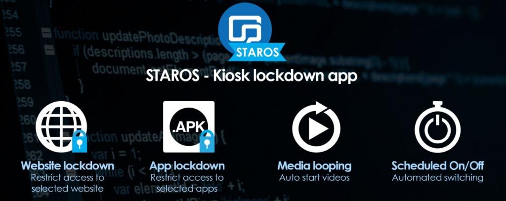 staros kiosk lockdown app