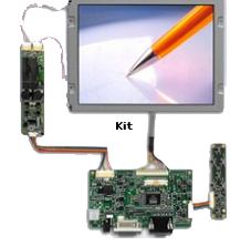 LCD TFT Kit solution