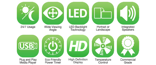 commercial monitor pros commercial monitor LED Backlight Technology