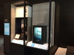Transparent Display at Science museum