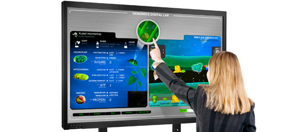 infrared-interactive-multi-touch-screen-whiteboard-display-large1