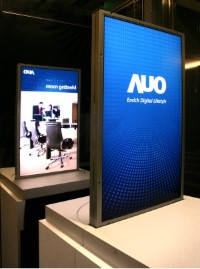 Double-sided TFT Display from AUO