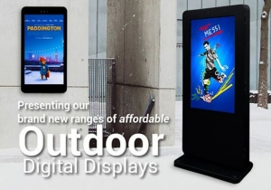 "NEW Outdoor Digital Signage Solutions that won't ""break the bank"""