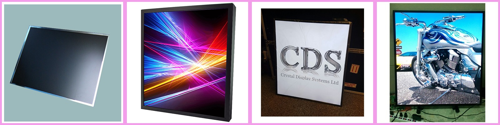 square displays cds