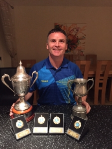 Chris Bartram becomes Kent champion again