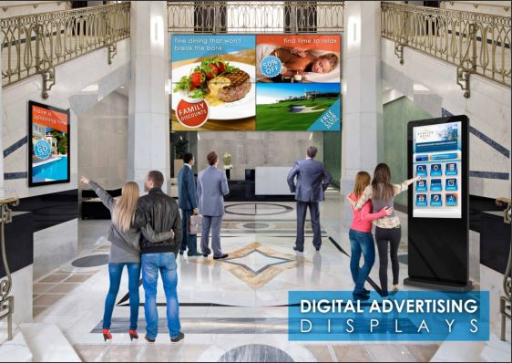 Digital Signage and Touchscreen Kiosks – is there a Difference?