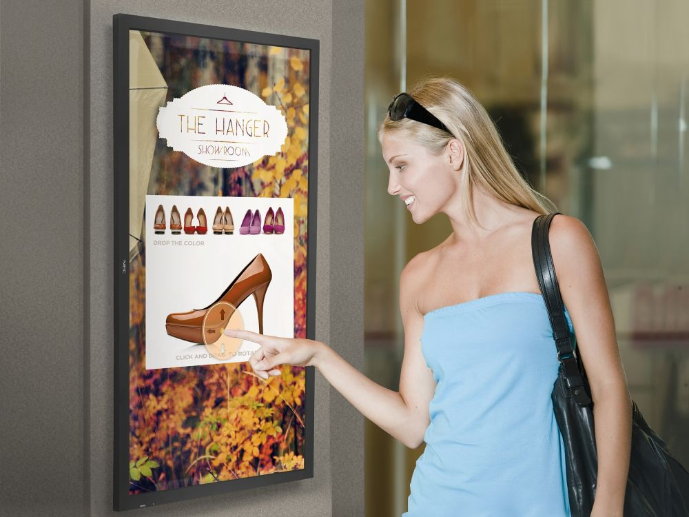 CDS Launches Multi-Touch Displays – Large Format up to 84 Inches