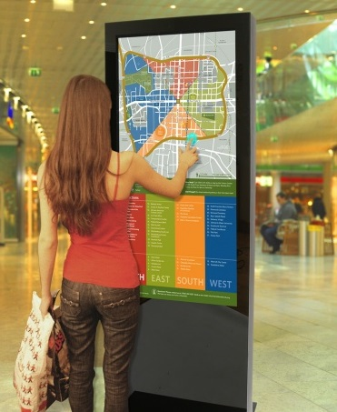 NEW Slimline Digital Signage Totems from CDS