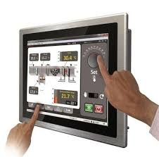 Panel PC with hand touch