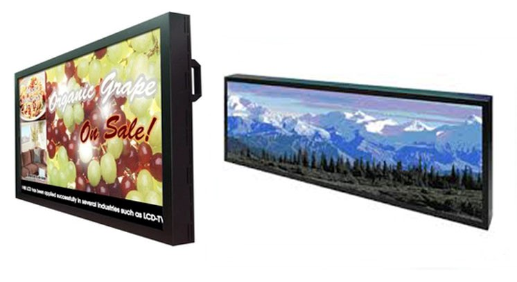 digital signage range