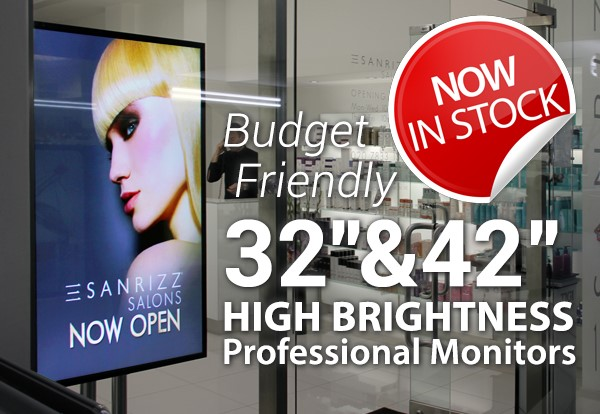 Introducing Cost Effective High Brightness Displays from CDS