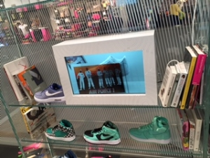 Nike Kick-Start their Marketing with Transparent Showcases in London