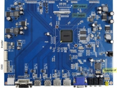 Saffron Plus 4K 2 K interface board