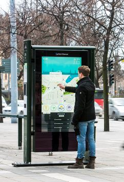 dynascan outdoor touch apllications Dynascan Outdoor Applications