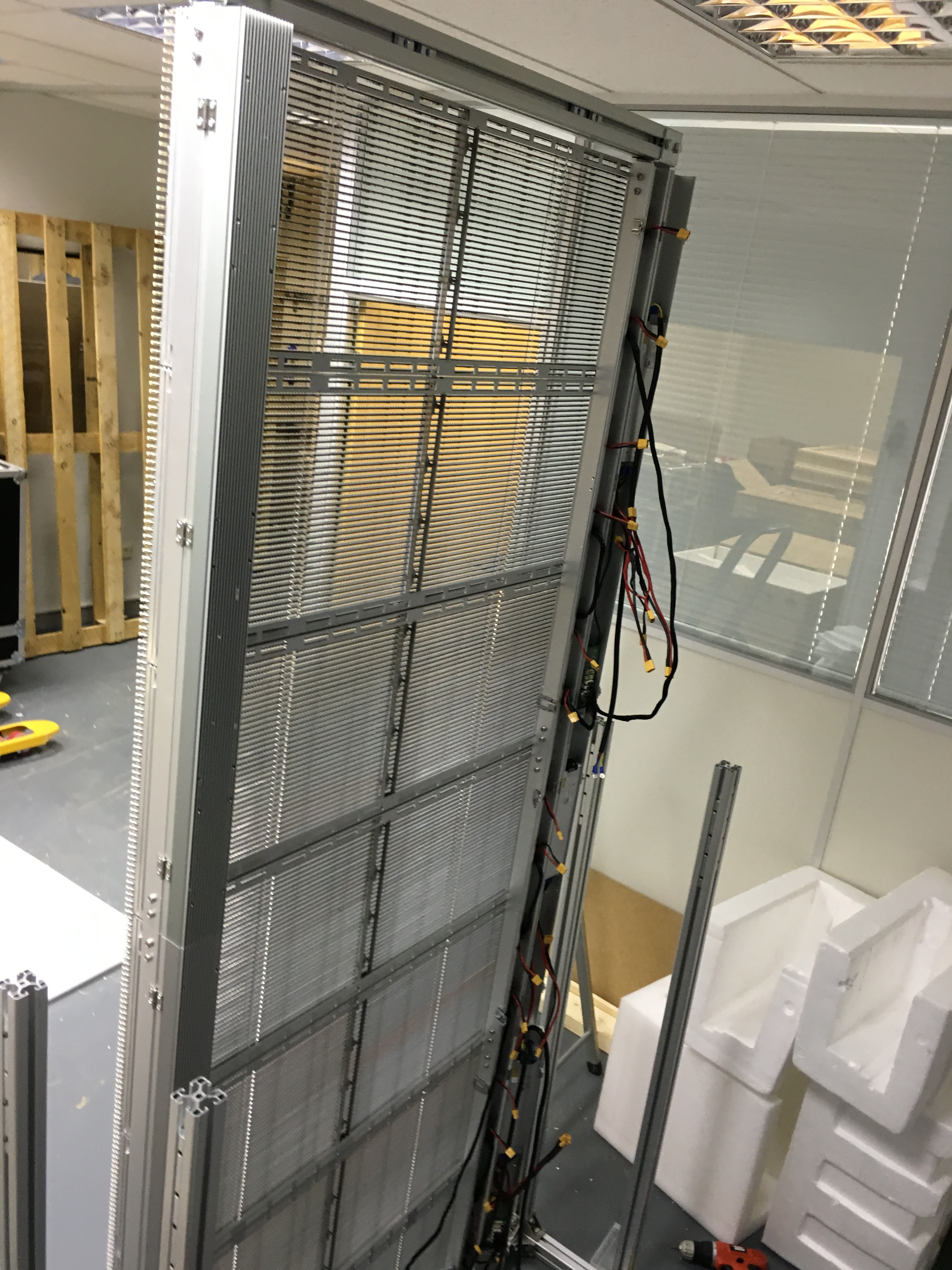 TGlass Display Tested Before being Shipped to Denmark