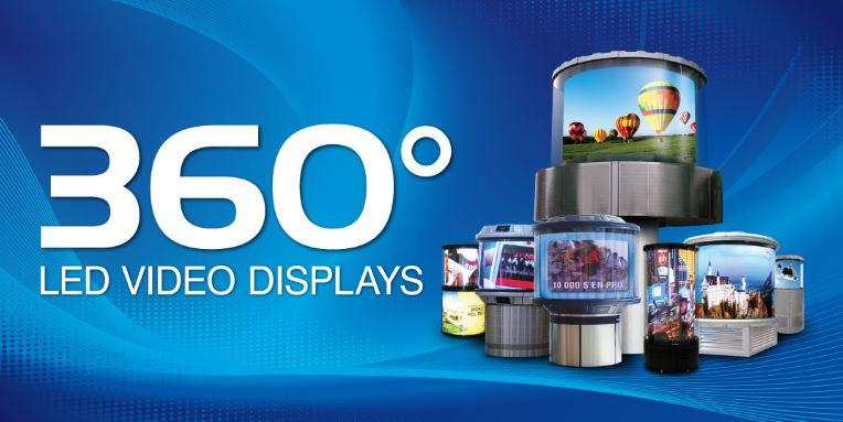 Dynascan 360° LED Video Displays