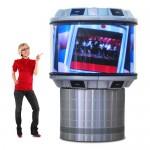 CDS1508 360 LED indoor display Dynascan 360° LED Video Displays