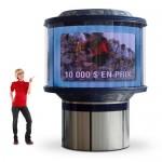 CDS2012 360 indoor LED displays Dynascan 360° LED Video Displays