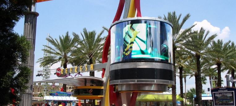 theme park 360 displays Dynascan 360° LED Video Displays