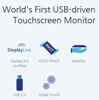 Check out the World's First USB-driven Touchscreen Monitor – UM-760R