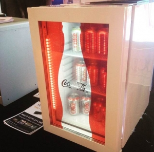 CDS Designs Transparent Displays for Refrigerators and Coolers