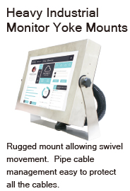 rugged mount IP66 monitor