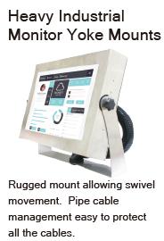 rugged mount IP66 monitor