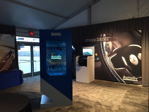 Check out this Transparent Installation at the CES Show in USA