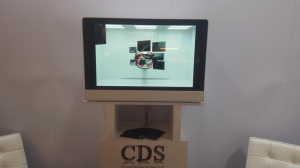See our Transparent Showcase Display in Action at ISE 2016