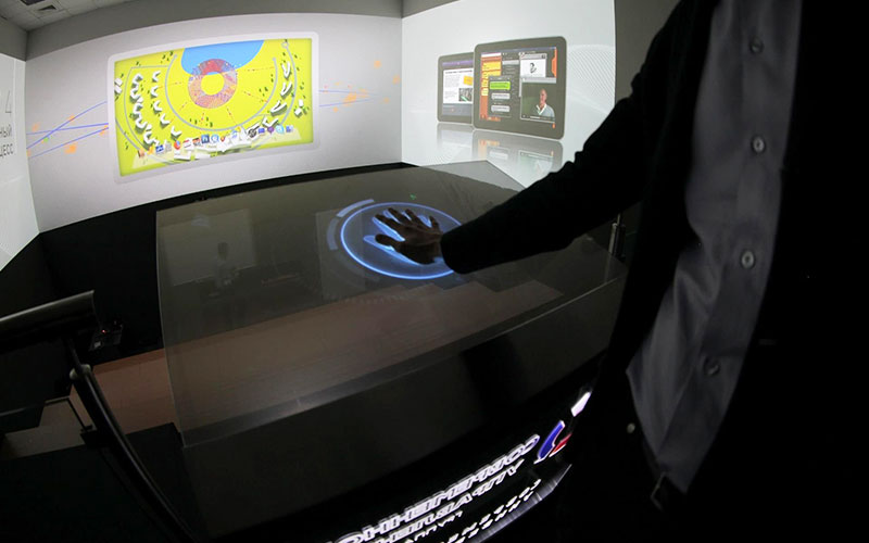 Unusual uses of CDS Displax Multitouch Touch Foils