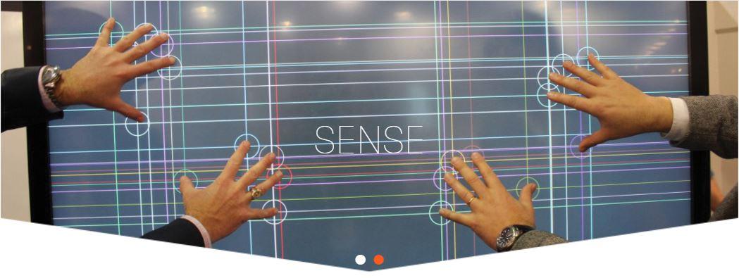 displax sense touch Sense (Metal Mesh) MultiTouch on Glass