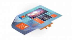 DISPLAX have Improved the Skin Ultra Fit PCAP Touch Foil