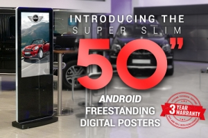 Bigger & Better with no Extra Cost – The 50″ Slimline