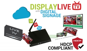 Why Not Use Your Digital Signage to Display Live TV?