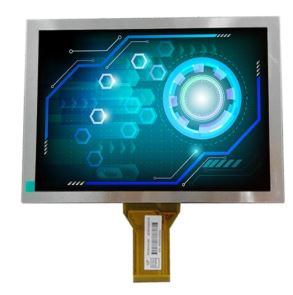 Touch & High Brightness Options for 8 Inch TFTs