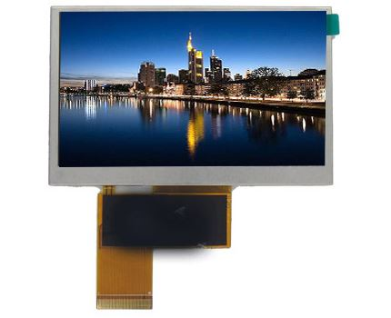 Impressive New Small Scale 4.3 inch LCD TFT
