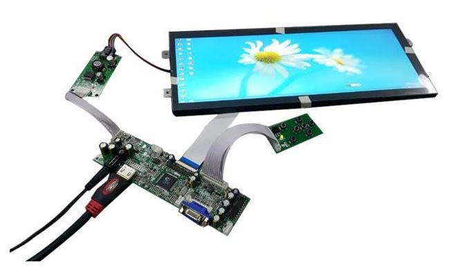 A Varied Range of Bar Type Full Colour TFT Displays