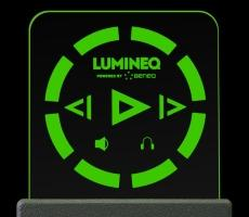 ELT 15S-Green beneq lumineq transparent displays EL electroluminecent Display