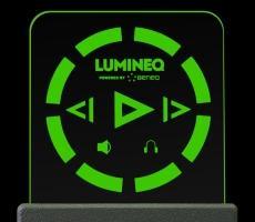 ELT 15S-Green beneq lumineq transparent displays EL electroluminecent Display